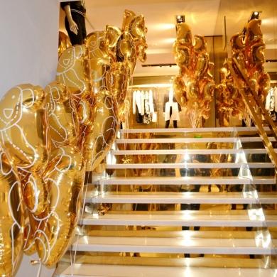 escalier-de-ballons