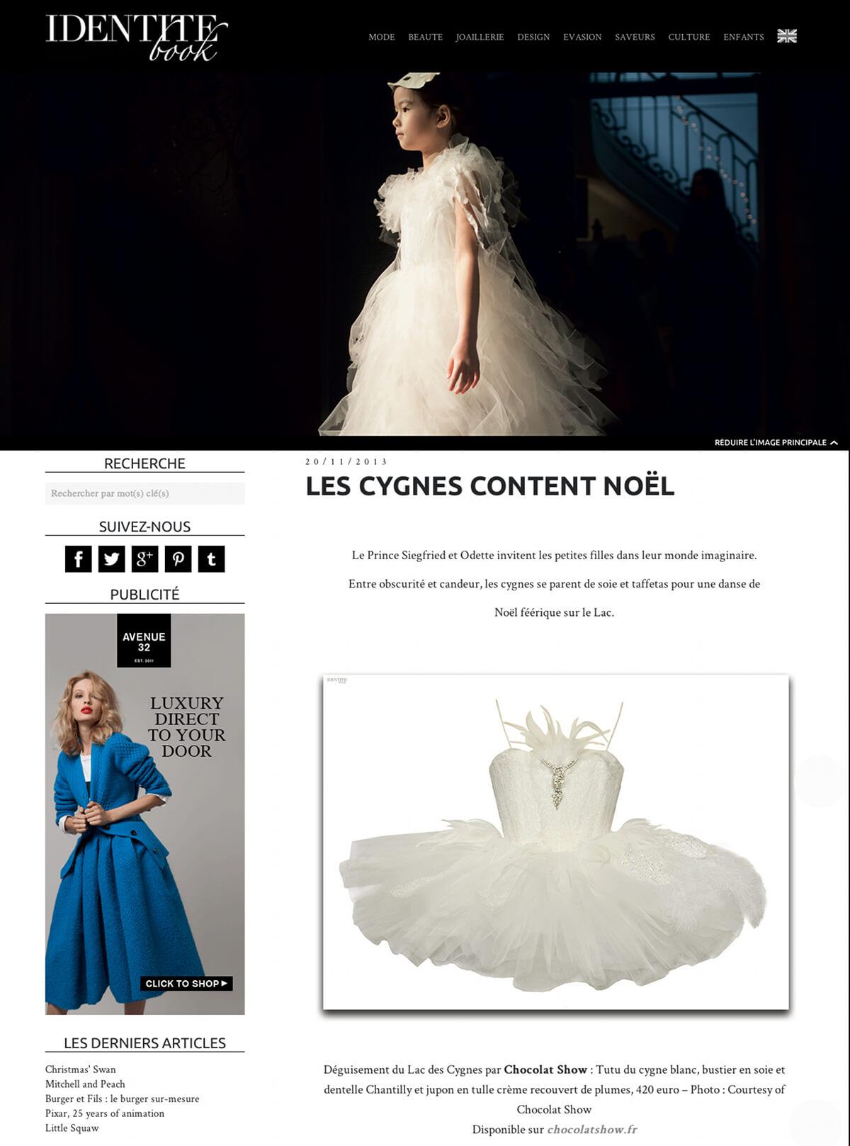 Lac-des-Cygnes-Noel-2013-Parution-Identite-book
